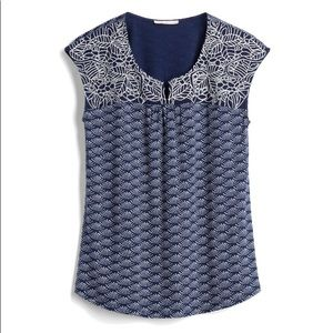 Skies are Blue Delila top